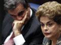 Plenário do Senado Federal durante sessão deliberativa extraordinária para votar a Denúncia 1/2016, que trata do julgamento do processo de impeachment da presidente afastada Dilma Rousseff por suposto crime de responsabilidade.Mesa: advogado da presidente afastada, José Eduardo Cardozo; presidente afastada Dilma RousseffFoto: Marri Nogueira/Agência Senado