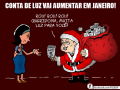 charge Dilma Luz
