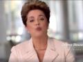 Reprodução do vídeo de Dilma Rousseff nas redes sociais