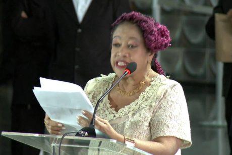 Luislinda Valois é empossada como secretária de Promoção da Igualdade Racial