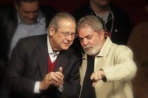 Lula e Dirceu Foto Divulgacao