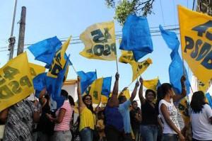 Bandeiras PSDB foto Divulgacao