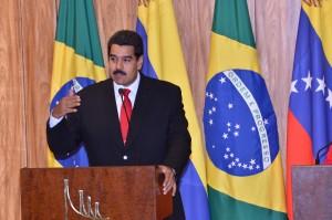 Dilma Rousseff recebe presidente da Venezuela