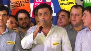 Aécio Neves participa de encontro político em São Caetano do Sul, SP