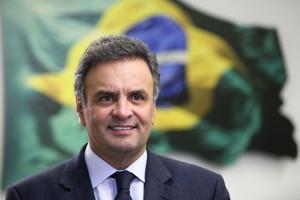 Senador Aecio Neves 21 08 2013 Foto George Gianni