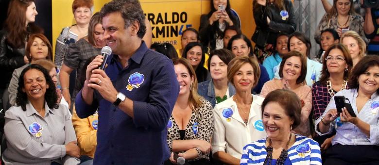 Aecio Neves em _Todas com A_cio_ - Marcos Fernandes22