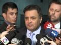 Coletiva senador Aécio Neves – Sobre projeto de lei do PSDB