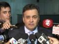 Coletiva senador Aécio Neves – Sobre pacotes de medidas contra corrupção