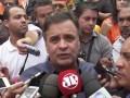 PSDB deve mudanças no projeto sobre a terceirização, afirma Aécio Neves