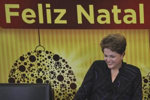 Brasilia - Presidenta Dilma Rousseff durante Natal com servidores, Cantata de Natal, com apresenta‹o do Coral da UnB
