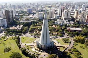 Cidade de Maringá. Foto: Divulgação Portal do Município de Maringá