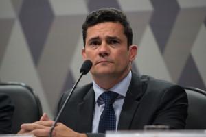Sergio Moro participa de audiência na CCJ do Senado