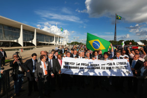 manifestacao planalto foto PSDB na Camara