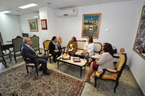 visita secretária Luislinda Valois no TJBA