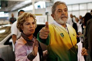 Lula e Marisa Letícia FOTO EBC