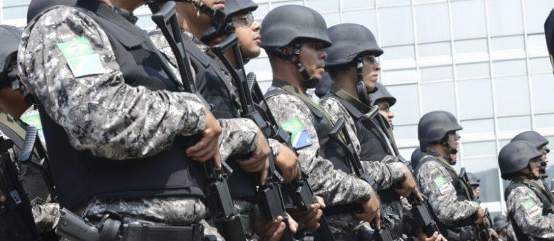 Segurança pública Força Nacional