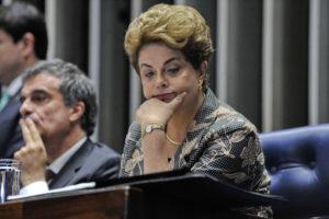 Dilma no Senado - impeachment FOTO Jane de Araújo Agência Senado