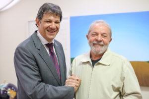 Lula e Haddad FOTO Ricardo Stuckert