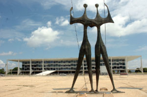 Praça dos Três Poderes, em Brasília. José Cruz:Agência Brasil