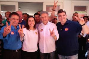 Raquel Lyra, apoio do atual prefeito de Caruaru