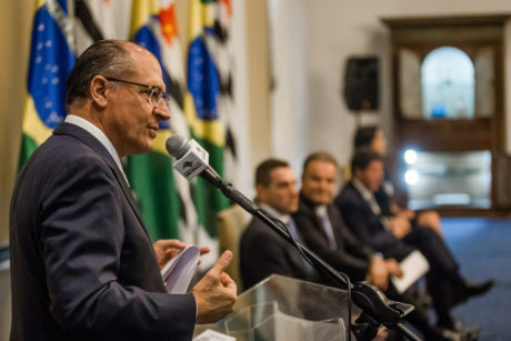 O Governador do Estado de São Paulo, Dr. Geraldo Alckmin, esteve presente na Assinatura de Convênios da Casa Civil. Local: São Paulo/SP. Data: 07/12/2016. Foto: Alexandre Carvalho/A2img