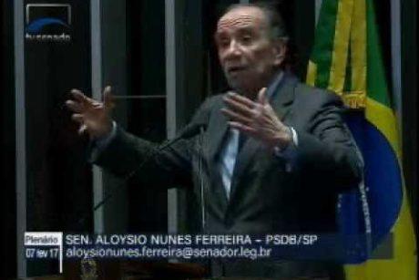 """Aloysio: Alexandre de Moraes será aprovado pelo Senado para o STF por """"amplíssima maioria"""""""