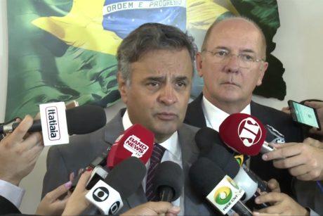 """""""O PSDB tem compromisso com a agenda de reformas que está em curso no país"""", diz Aécio Neves"""