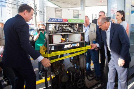 alckmin doria combustíveis