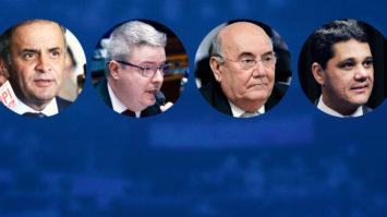 Senadores do PSDB votam pelo fim do foro privilegiado