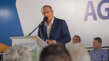 Em Ribeirão Preto, Alckmin lança pacote de incentivos ao agronegócio