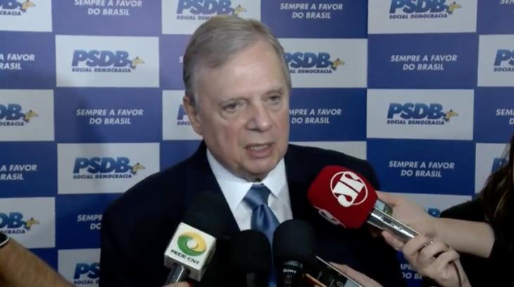 PSDB se mobiliza em defesa da reforma política, afirma Tasso