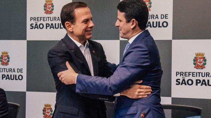 Resultado de imagem para Bruno Araujo e Joao Doria