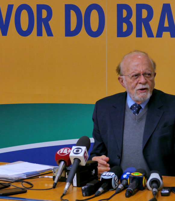 Entrevista do novo presidente do PSDB, Alberto Goldman. Brasília, 09/11/2017 - Foto Orlando Brito