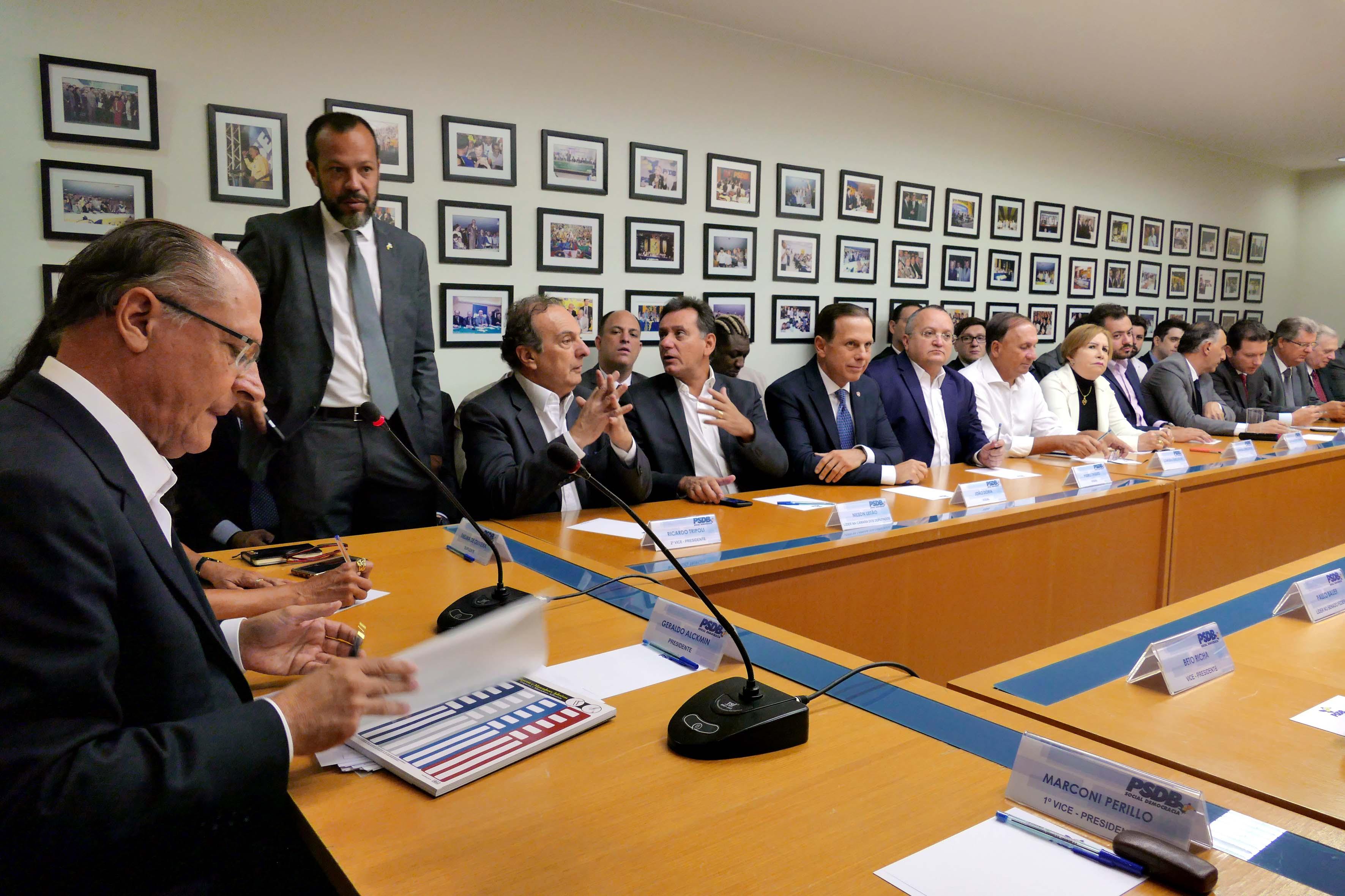 Resultado de imagem para psdb alckmin 2018