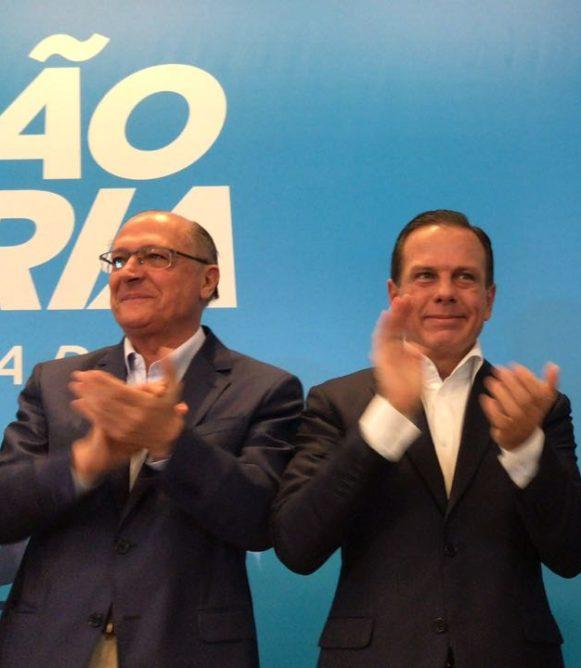 Alckmin participa de ato que oficializa Rodrigo Garcia como pré-candidato a vice-governador de Doria