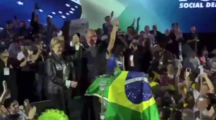 Alckmin e Ana Amélia começam oficialmente sua caminhada