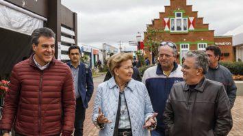 Ana Amélia visita a Capital Nacional do Leite