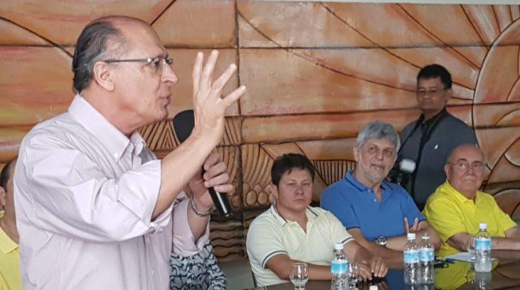 Em viagem ao Pará, Alckmin se compromete a melhorar estradas e incentivar o turismo no Estado