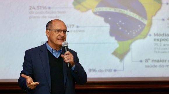 Pelo fim das injustiças, Alckmin pretende realizar reforma profunda na Previdência