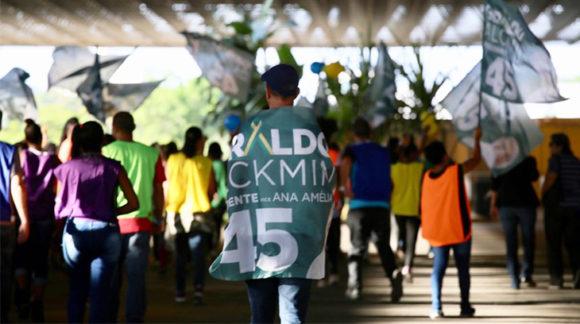 Unida, militância tucana promove série de ações em apoio a Alckmin