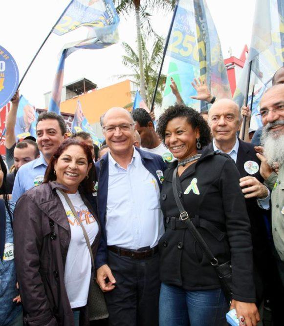 """""""Nós somos contra aumentar impostos. Contra recriar a CPMF"""", afirma Geraldo Alckmin"""
