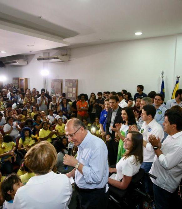 Candidato tucano garante atenção especial aos 40 milhões de brasileiros com algum tipo de deficiência