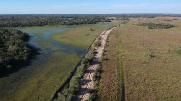 Com licença ambiental, Estado prioriza reinício da obra da MS-228 no Pantanal