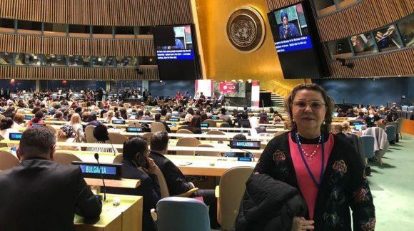 Tereza Nelma destaca luta pela promoção social e econômica da mulher