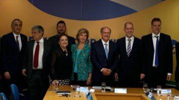 Geraldo Alckmin e Yeda Crusius reforçam aliança com a fundação alemã Konrad Adenauer