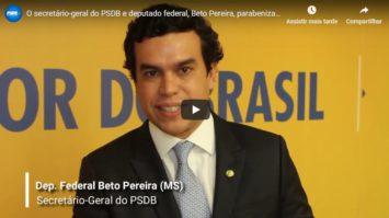 Beto Pereira destaca a responsabilidade que PSDB sempre empreendeu em suas administrações