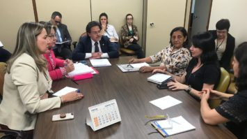 Eduardo Barbosa se reúne com presidente do Conselho de Assistência Social