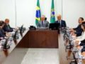 Presidente Michel Temer durante reunião com governadores de Rondônia, Acre, Roraima, Mato Grosso, Mato Grosso do Sul, Amazonas, Pará e Tocantins. Fotos Orlando Brito
