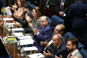 Senador Izalci Lucas (PSDB-DF) promoveu sessão solene na casa legislativa